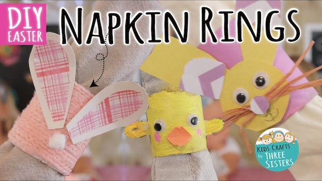 How to Make Napkin Rings for Easter!