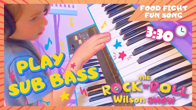 Learn to Play Food Fight Fun - Sub Bass