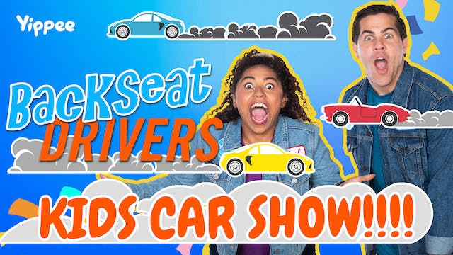 FIRST CAR SHOW FOR KIDS EVERRRRR!