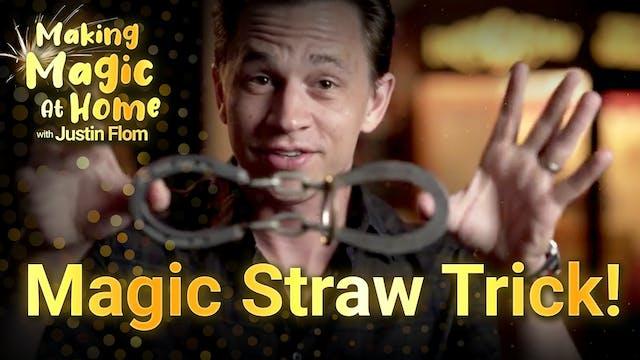 Magic Straw Trick!