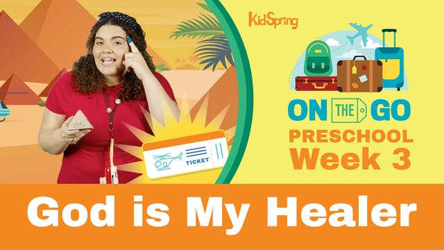 On The Go | Preschool Week 3 | God Is...