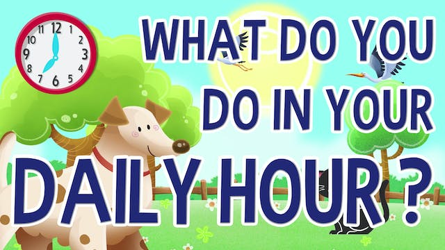 What Do You Do in Your Daily Hour?