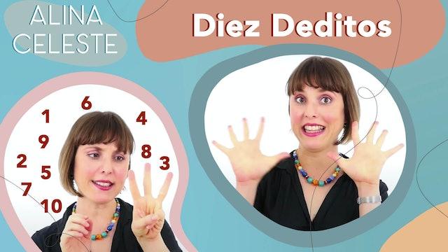 Diez Deditos - Cancion Intantil by Alina Celeste