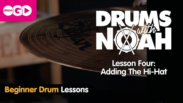 Drums With Noah | Lesson Four | The H...