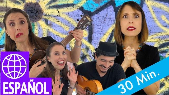 30 minutes by Alina Celeste - Palo Palo, Pedro el Gato, Elefantes y mas!