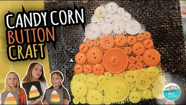 Fall Candy Corn Craft for Kids