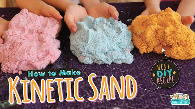 The Best DIY Kinetic Sand Recipe for Kids