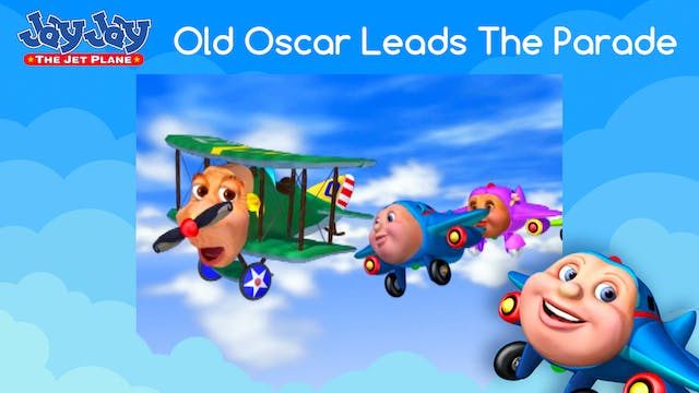 Old Oscar Leads The Parade