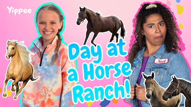Day at a Horse Ranch with Riley Rose!