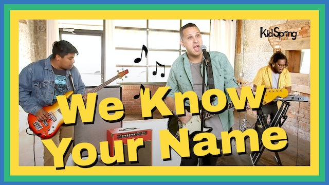 We Know Your Name
