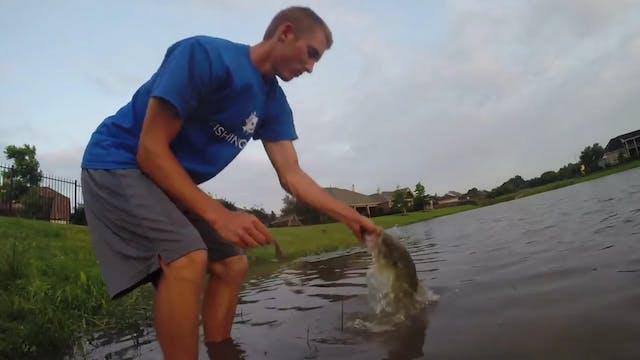 Noodling for Big Bass