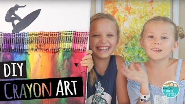 How to Make DIY Melted Crayon Art | B...