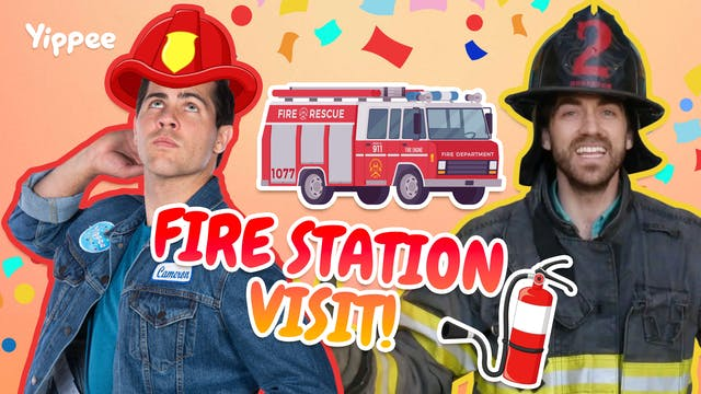 FIRE STATION TOUR! with DannyGo!