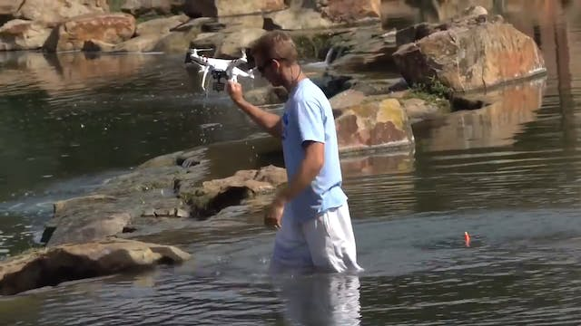 Drone Fishing... And Then I Crash It