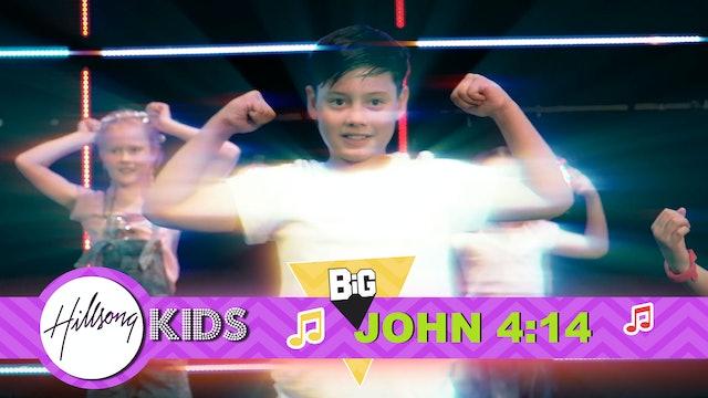A HERO RISES | Big Word 1 John 4:14 (Actions & Music Video)