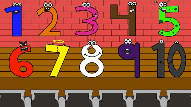 Numbers Song 1-10