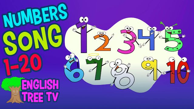 Numbers Song 1-20  Counting, Adding, ...