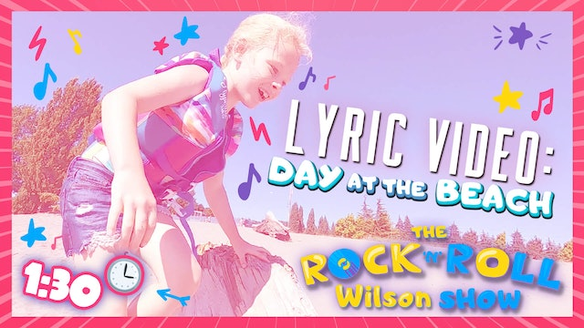 Day at the Beach - Lyric Video
