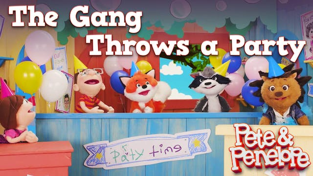 The Gang Throws a Party