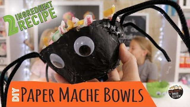 How to Make Paper Mache Bowls with Ne...