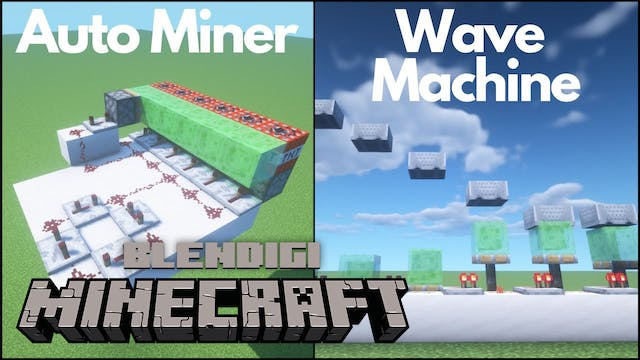 3 Simple Redstone Builds #7