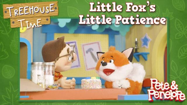 Little Fox's Little Patience