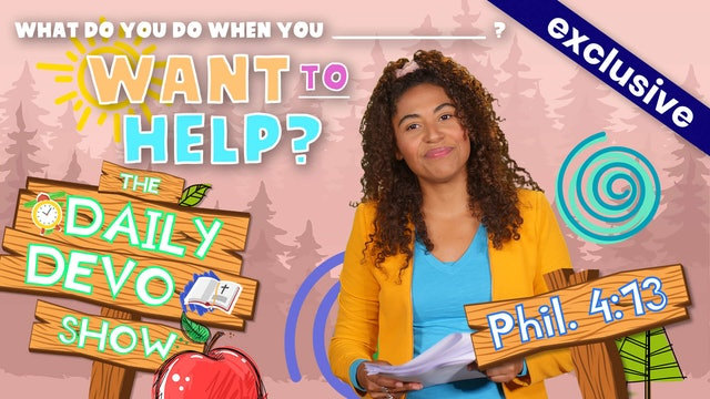 #40 What Do You Do When - You Want to Help?
