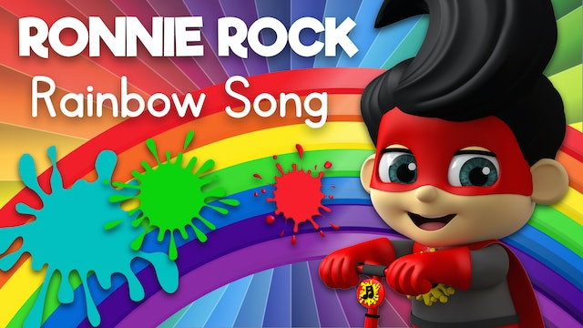 Learn Colors of the Rainbow with Ronnie Rock