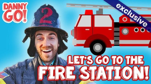 Danny Go! Visits the Firestation