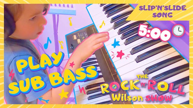 Learn to Play Slip'n'Slide - Sub Bass