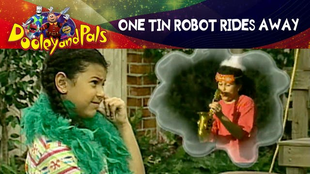 One Tin Robot Rides Away