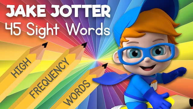 Learn Sight Words with Jake Jotter