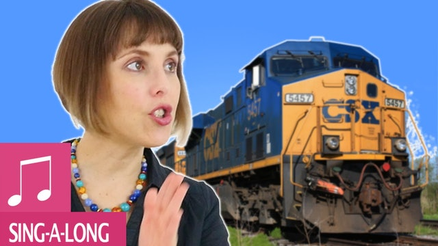 This Train - Kids Songs - Alina Celeste
