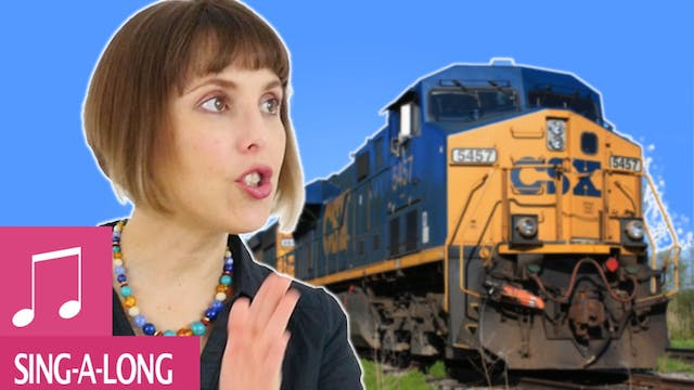 This Train - Kids Songs - Alina Celeste