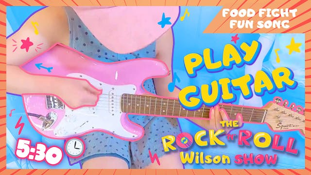 Learn to Play Food Fight Fun - Guitar