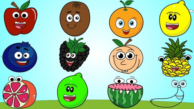 Fruits, Colors & More Kids Songs!