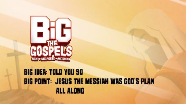 THE GOSPELS   Big Message Episode 3.1...