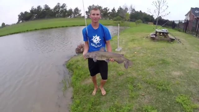 Catfishing with a Flipping Stick