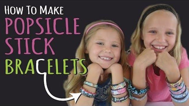 How to Make Popsicle Stick Bracelets