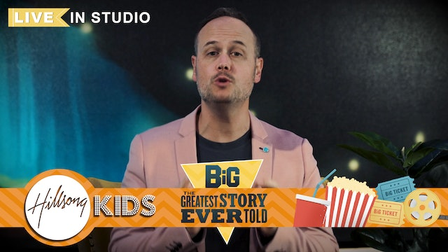 GREATEST STORY EVER TOLD | LIVE Big Message Episode 1.1 | Opening Scene
