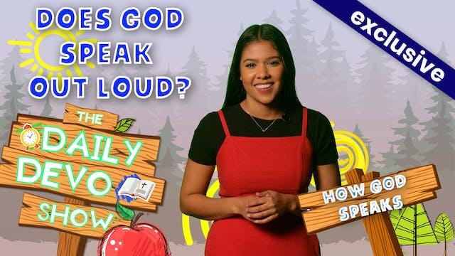 #155 - Does God Speak Out Loud?