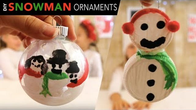 2 Easy Snowman Ornaments for Kids  | ...