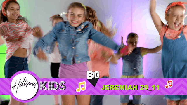 LIVING FOR GOD | Big Word Jeremiah 29:11(Actions & Music Video)