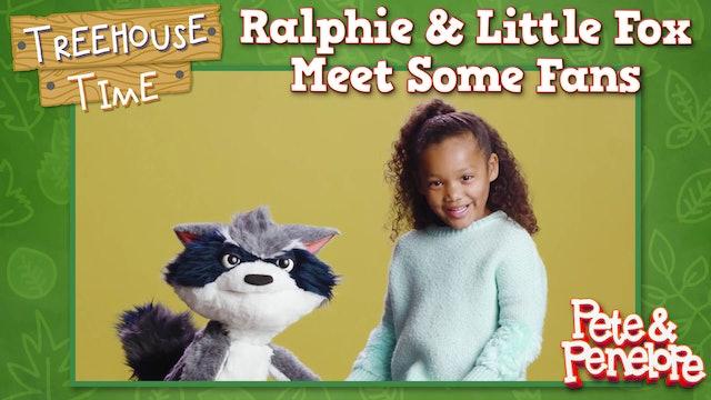 Ralphie and Little Fox Meet Some Fans