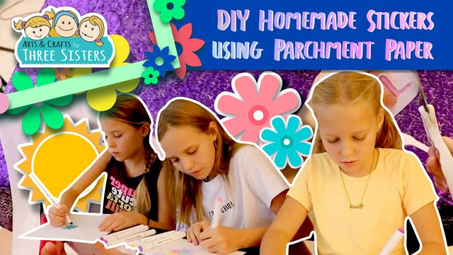 How to Make Homemade Stickers using P...