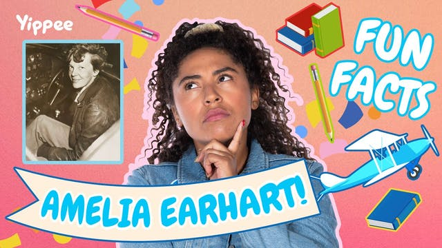 AMELIA EARHART FUN FACTS with Maddy!