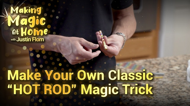 "Make Your Own Cassic ""HOT ROD"" Magic Trick"
