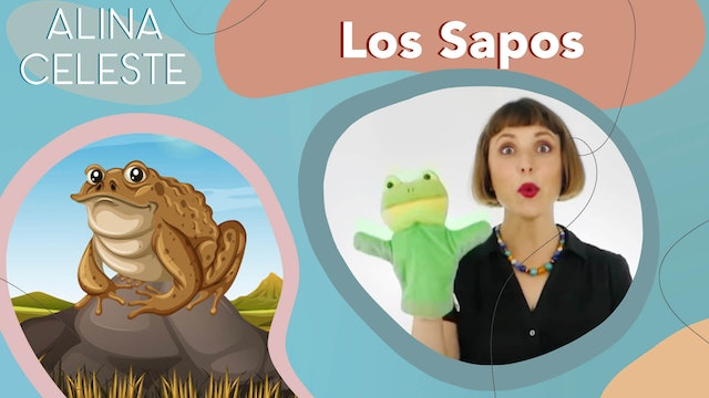 Cancion Infantil - Los Sapos by Alina Celeste - Songs for kids in Spanish