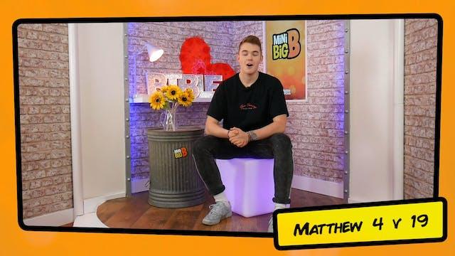 Bible Devotions | Matthew 4v19
