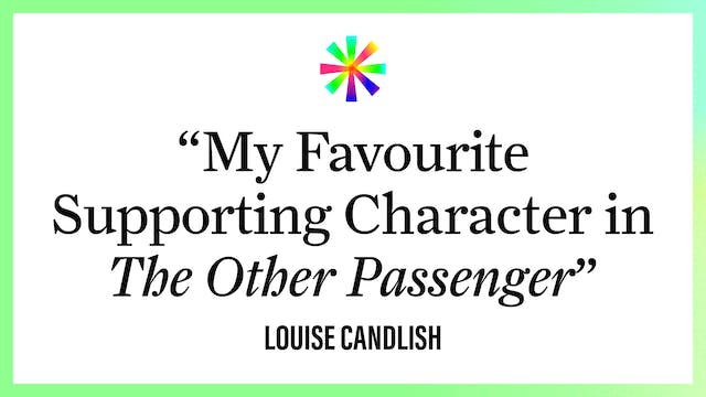 """""""My Favourite Supporting Character in..."""